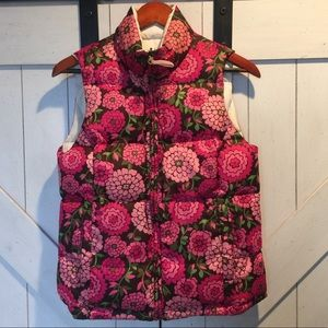 Sale! Lilly Pulitzer reversible down puffer vest